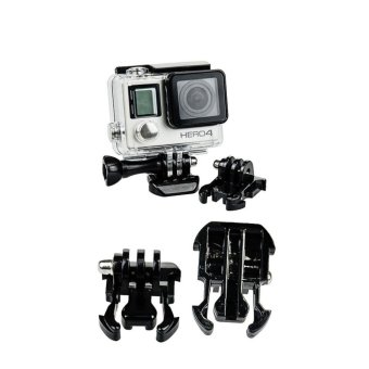 Helmet Strap Mount Quick J-hook Buckle Safety Tether Kit Set For GoPro 5S/5/4S/4/3+/3 XiaoMi Yi SJCAM Sport Action Camera Accessories - intl - 3