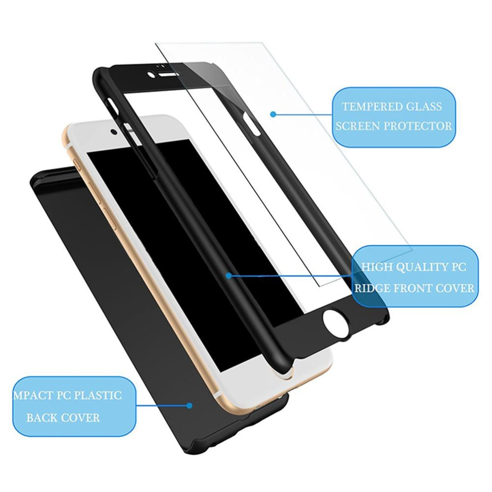 Hicase Full-Body Case Shockproof PC Matte Finish Slim Cover 2 in .