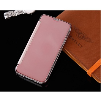 Hicase Mirror Smart Clear View Window Flip Case Cover For Samsung Galaxy S5 Rose Gold - intl - 3