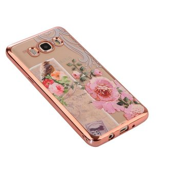 Hicase Ultra-Thin Soft Gel TPU Silicone Case For Samsung Galaxy Grand Prime Plus / J2 Prime Birds and flowers - intl - 4