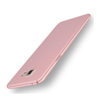 High quality 360 ultra-thin matte PC hard Cover Case For SamsungGalaxy A7 2017(Rose gold)