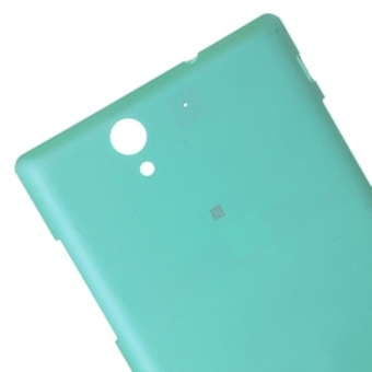 ... High Quality Back Cover Replacement for Sony Xperia C3 (Blue) - 3 ...