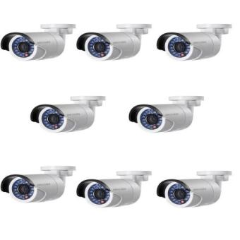 Hikvision DS-2CD2020F-IW 2MP Wi-Fi Mini Bullet Camera (Set of 8)
