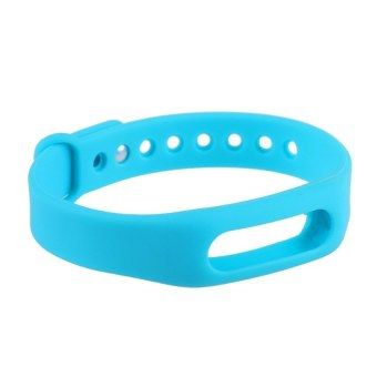 HKS Replacement Wrist Band for Xiaomi Mi Band (Blue) (Intl)