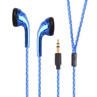 HKS Super Bass In Ear Headset Earphone (Blue) (Intl)