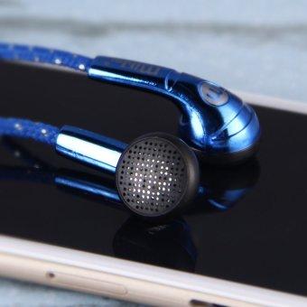 HKS Super Bass In Ear Headset Earphone (Blue) (Intl) - picture 2