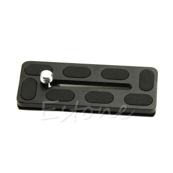 Hot PU100 Quick Release Plate 100mm for Benro B1 J1 Arca Swiss Compatible PU100 - intl Price Philippines
