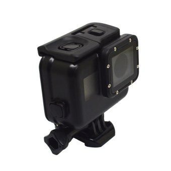 Hot Sales Fashion Waterproof Shell to Go to 5 If the ProtectiveCover Cover GoPro HERO5 Accessories Black - intl - 2