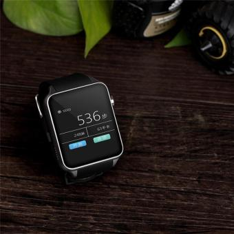 Hot Sales GT88 Bluetooth Waterproof Smart Watch Heart Rate Monitor Smartwatch Support TF/SIM Card for IOS Android System Smart Phone - Black - intl - 5