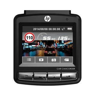 HP F310 Car Camcorder (Black) - 4