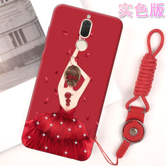 Huawei cool edging soft silicone drop-resistant protective case phone case