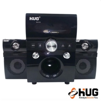 HUG H28-218 Subwoofer Speaker with USB Slot and Built-in FM Radio