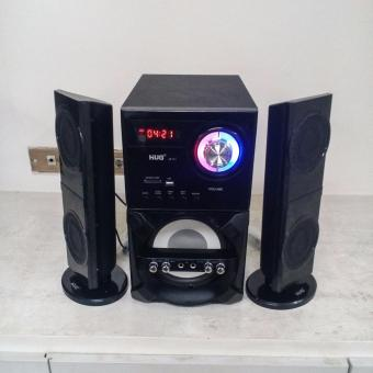 HUG H28-751 Home Theater Subwoofer Speaker w/ Bluetooth, USB (mp3) & FM Radio - 4