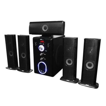 Hug Music Heaven H28-801 5.1 Channel Home Theater System (Black)