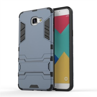 Hybrid Combo Rugged Case for Samsung Galaxy A9 Pro (2016) (DarkNavy) - 2