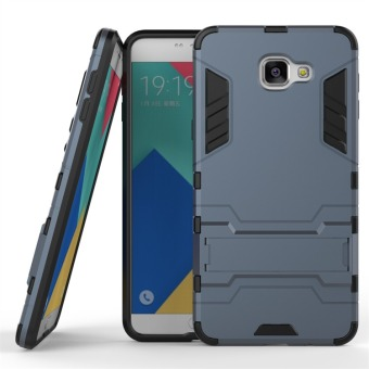 Hybrid Combo Rugged Case for Samsung Galaxy A9 Pro (2016) (DarkNavy)