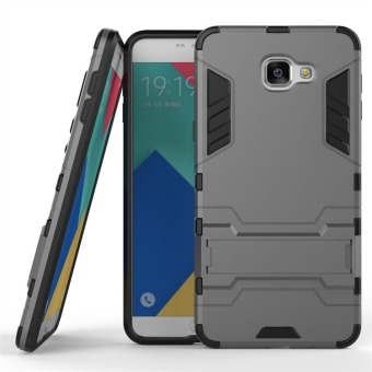 Hybrid Combo Rugged Case for Samsung Galaxy A9 Pro (2016) (Grey)