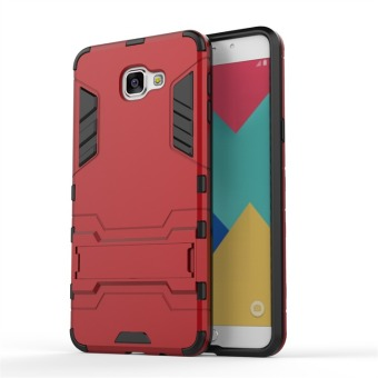 Hybrid Combo Rugged Case for Samsung Galaxy A9 Pro (2016) (Red)