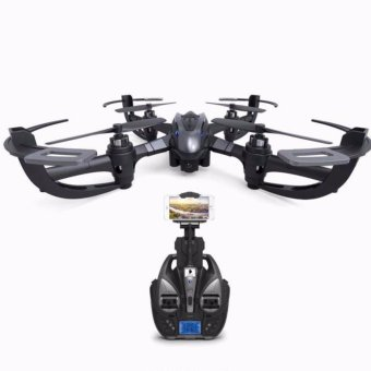 i 4W 6 Axis Gyro Drone WiFi Real Time Transmission 2MP HD Camera(Black) - intl Price Philippines