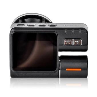 I1000 Car DVR Dual Lens Car Camcorder Allwinner A20 Dash Cam withH.264 Dual Camera 2 Rear View Camera Vehicle DVR Car Black Box -intl - 3