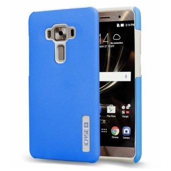 """iCase Dual Pro Shockproof Case for ASUS Zenfone 3 (5.5"""") ZE552KL (Blue)"""