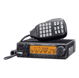 ICOM IC-2300H VHF Base Radio (Black) with Special Mic HM-133V