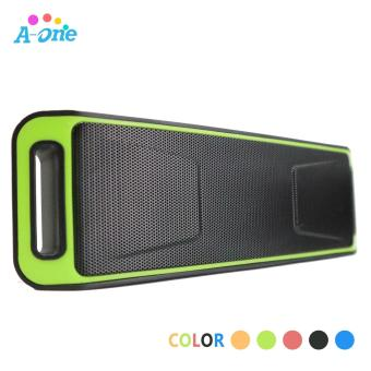 iLike Mini Bluetooth Speaker Portable Wireless Speaker Sound System3D Stereo Music Surround Support TF AUX USB FM ( RED / BLACK / BLUE/ ORANGE / GREEN ) - 2
