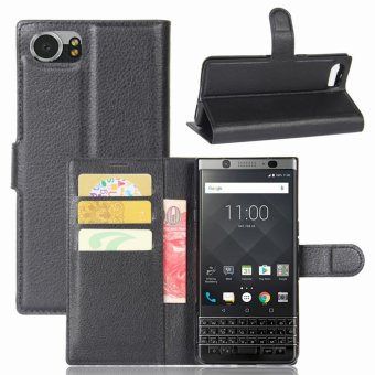 PU Leather Wallet Case Cover for BlackBerry Keyone Mercury DTEK70 - intl Price Philippines