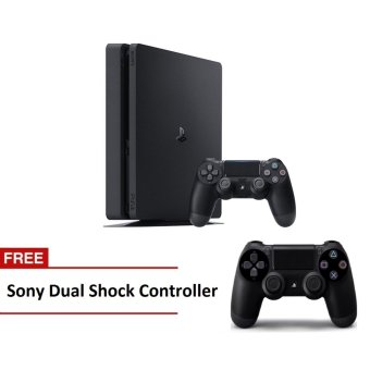 Sony PlayStation 4 Slim 1TB CUH-2016B (Jet Black) with Free Extra Sony Dual Shock Controller Price Philippines