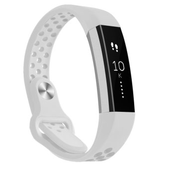 Hanlesi Band for Fitbit Alta HR , Fitbit Alta , Breathable Soft Silicone Adjustable Fashion Sport Strap Band for Fitbit Alta 2 Replacement Fitness Accessory Wristband with hole - intl Price Philippines
