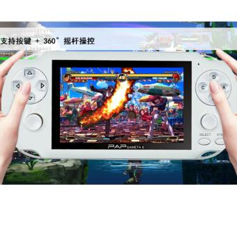 Double Rockers Handheld Game Player 4gb 4.3 inch Video Game Portatil 2017 Portable Game Console Free Download Camera TV Out(White) - intl Price Philippines