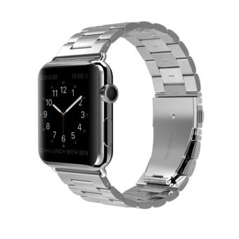 Apple Watch Band,42mm Stainless Steel Metal Replacement Classic Band for Apple Watch Series 2 Series 1 42mm - intl Price Philippines