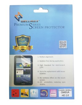 Harga Wellmax Screen Protector For Cherry Mobile Omega HD 2.0 (Matte)