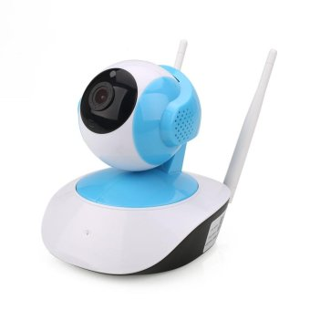 Wireless WiFi 1.0MP HD 720P Security IP Camera Night Vision Cam EU Plug - intl Price Philippines