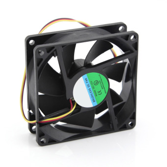 eMylo DC 12V 3Pin 80mm 8cm PC CPU Processor Computer Case Chassis Heatsink Cooling Fan 80x25mm Black Price Philippines
