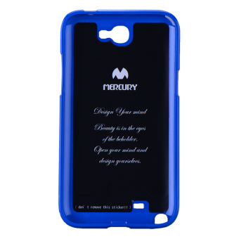 Mercury Color Pearl Jelly Case for Samsung Galaxy Note II (Blue) Price Philippines