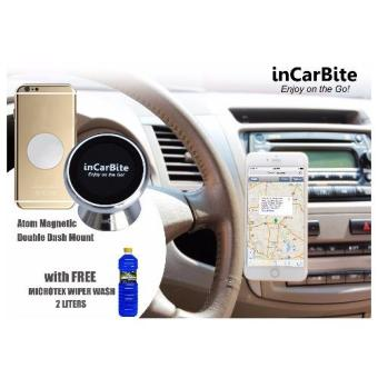 Harga InCarBite DDS-MM Magnetic Mobile Dash Mount w/ Free Microtex Wiper Wash 2L