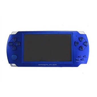4GB 4.3-Inch TFT Screen Mp4 MP5 Player Game Player Supports Psp Game Camera Video E-book Music Blue Price Philippines