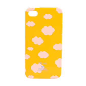 Mercury Printed Jelly Case iPhone 4/4S (Cloud/Yellow) Price Philippines