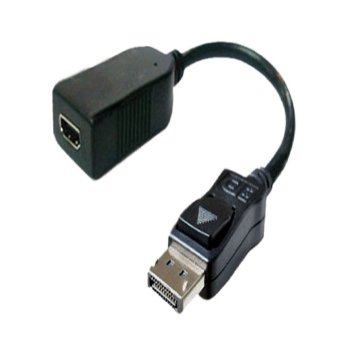 Harga Display Port to HDMI Cable Adapter Black