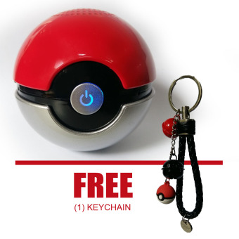 Bluetooth Speaker Pokemon with FREE Keychain (Silver) Price Philippines