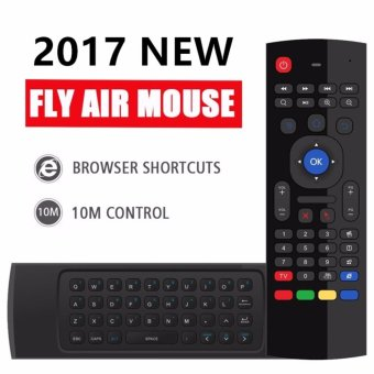 SANHE MX3-A Fly Air Mouse 2.4G Mini PC Wireless Keyboard Remote Learning Control For Android Smart TV BOX G Box IPTV HTPC Windows IOS Mac Linux PS3 Xbox - intl Price Philippines