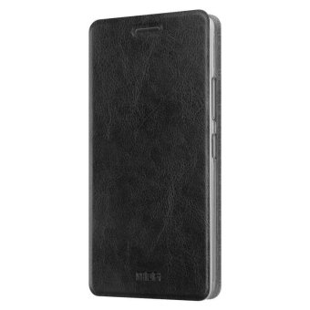 Harga Lenovo K6 Note case MOFi flip cover Lenovo vibe K6 Note case cover leather luxury silicon hard back cover k6note case 5.5 inch - intl
