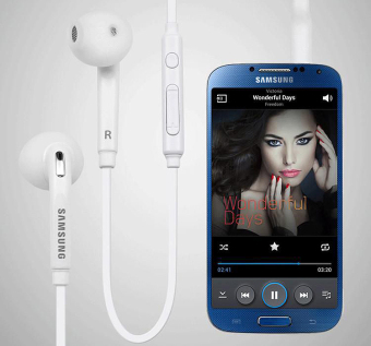 Samsung Handsfree In-ear Headset with Mic for Samsung Galaxy S3/S4/S5 (White) Price Philippines