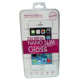 Harga Nano Slim Colorful Glass Tempered Glass Protector for Huawei G7 Plus