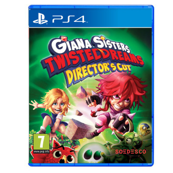 Giana Sister's Twisted Dreams Directors Cut R2 for PS4 Price Philippines