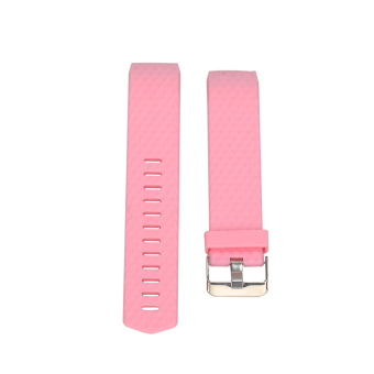 Harga New Diamond Silicone Band For Fitbit Charge 2 (Pink) - intl