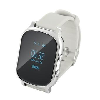 GPS Tracker Smart Watch T58 for Kids Children GPS Bracelet Google Map Sos Button Tracker Gsm GPS Locator Clock Smartwatch - intl