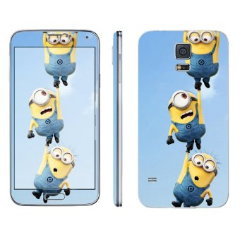 Harga Oddstickers Hanging Minions Phone Skin for Samsung Galaxy S5