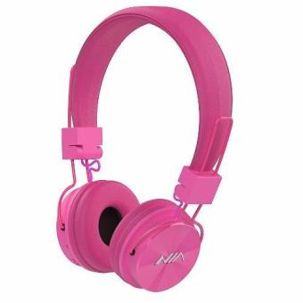 NIA-X3 108dB 4 in 1 Collapsible Wireless Bluetooth Over the Ear Headphone (Pink) Price Philippines